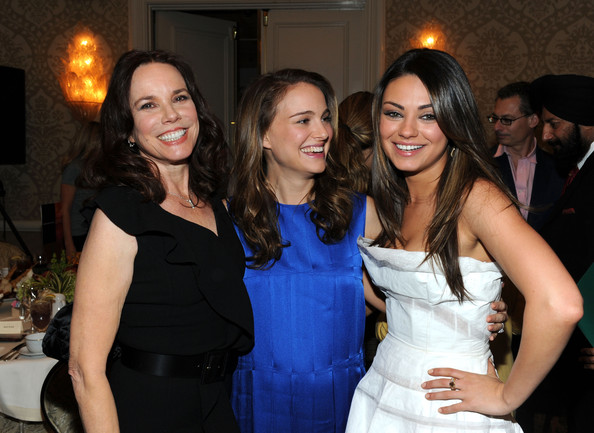 Actress Barbara Hershey (L) Natalie Portman, and Mila Kunis attend the Eleventh Annual AFI Awards reception at the Four Seasons Hotel on January 14, 2011 in Los Angeles, California.