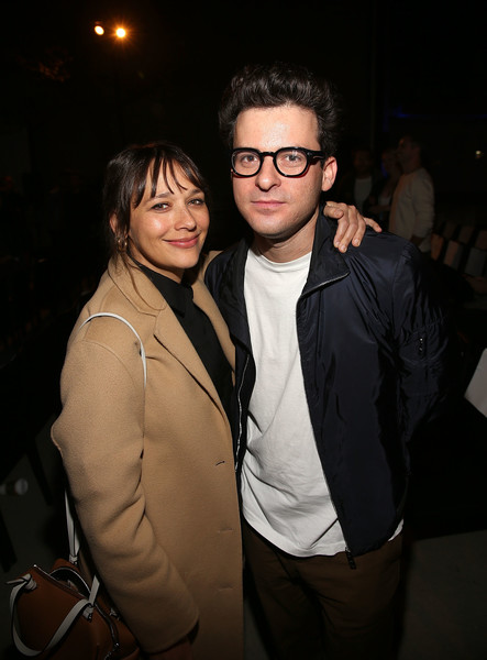 Premiere Of A24's 'Mid90s' - After Party [eyewear,glasses,cool,fun,event,night,outerwear,vision care,formal wear,flash photography,eli bush,rashida jones,california,los angeles,a24,premiere,party,premiere,party]