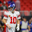 Eli Manning New York Giants v Atlanta Falcons