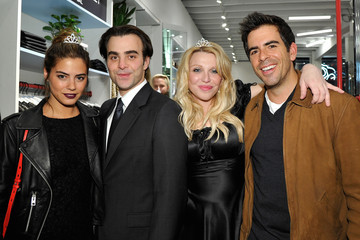 Eli Roth Lorenza Izzo Love, Courtney by Nasty Gal Launch Party