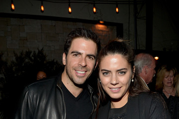 Eli Roth Lorenza Izzo The World Premiere of 'The Hateful Eight' - After Party