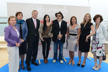 Elia Suleiman Maria de Medeiros Press Conference - 65th Annual Cannes Film Festival