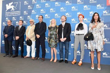 Elia Suleiman International Jury Photo Call in Venice