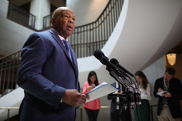 Elijah Cummings Members of the House Oversight Cmte Deliver Remarks to Press