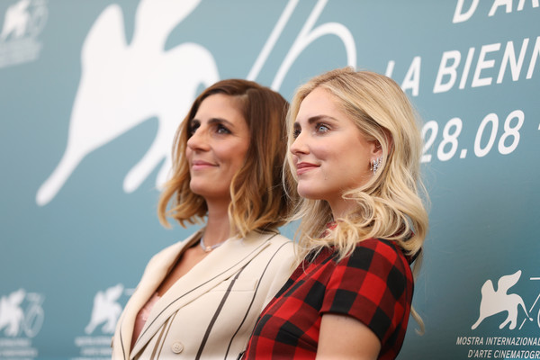 'Chiara Ferragni - Unposted' Photocall - The 76th Venice Film Festival [photocall - the 76th venice film festival,hair,beauty,blond,hairstyle,fashion,design,premiere,photography,event,long hair,chiara ferragni - unposted,elisa amoruso,chiara ferragni,photocall,venice,italy,76th venice film festival]
