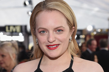 Elisabeth Moss 24th Annual Screen Actors Guild Awards - Red Carpet