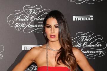 Elisabetta Gregoraci Arrivals at the Pirelli Calendar 50th Anniversary Event