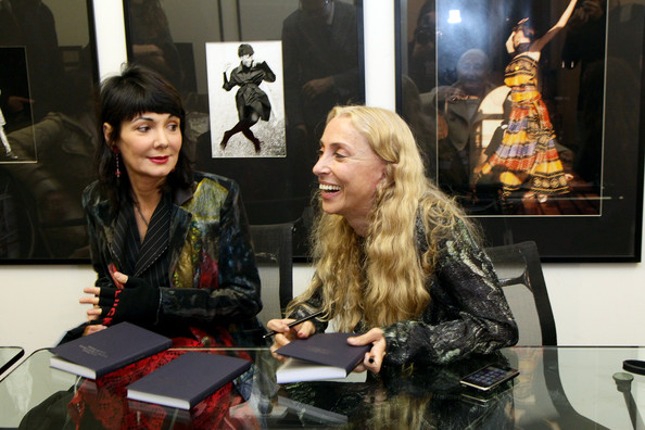Vogue Italia Editor-in-Chief Franca Sozzani Launch Book