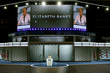 Elizabeth Banks Democratic National Convention: Day Two