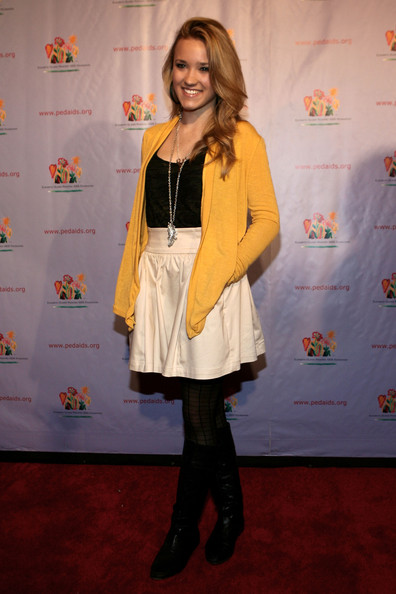 Emily Osment attends the Elizabeth Glaser Pediatric AIDS Foundation