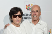 Marilyn Katzenberg and Jeffrey Katzenberg attend The Elizabeth Glaser Pediatric AIDS Foundation's Annual 'A Time For Heroes' Family Festival at Smashbox Studios at Smashbox Studios on October 28, 2018 in Culver City, California.