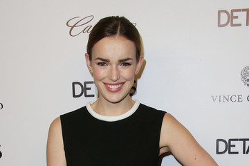 Elizabeth Henstridge DETAILS Celebrates the 2013 Hollywood Mavericks