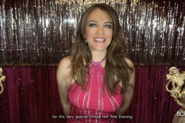 Elizabeth Hurley Breast Cancer Research Foundation's Virtual Hot Pink Evening