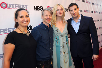 Elle Fanning John Cameron Mitchell The Opening Night Gala of 'Tig' at the 2015 Outfest Los Angeles LGBT Film Festival - Red Carpet