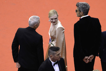 Elle Fanning Robin Campillo 'The Dead Don't Die' & Opening Ceremony Red Carpet - The 72nd Annual Cannes Film Festival