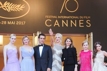 Elle Fanning Sofia Coppola 'The Beguiled' Red Carpet Arrivals - The 70th Annual Cannes Film Festival