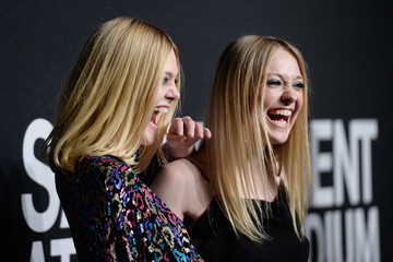 Elle Fanning SAINT LAURENT At The Palladium - Arrivals