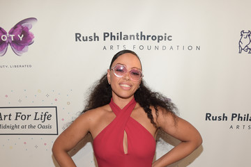 Elle Varner Russell Simmons' Rush Philanthropic Arts Foundation Hosts the Midnight at the Oasis Annual Art for Life Benefit - Arrivals