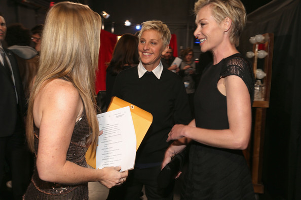 DeGeneres and Portia de Rossi - 39th Annual People's Choice Awards