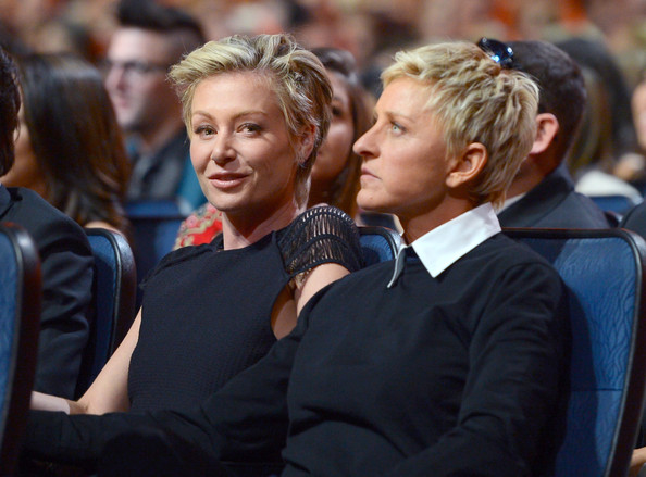 DeGeneres and Portia de Rossi - 39th Annual People's Choice Awards ...