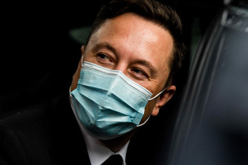 Elon Musk European Best Pictures Of The Day - September 02