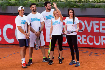 Elsa Pataky Charity Day Tennis Tournament in Madrid