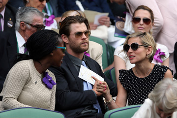 Elsa Pataky Day Thirteen: The Championships - Wimbledon 2014