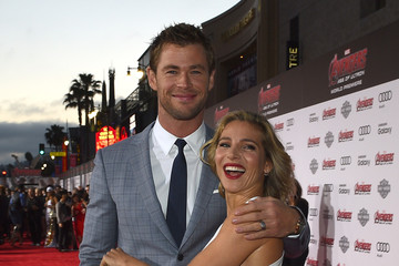 Elsa Pataky Audi Arrivals at The World Premiere of 'Avengers: Age Of Ultron'