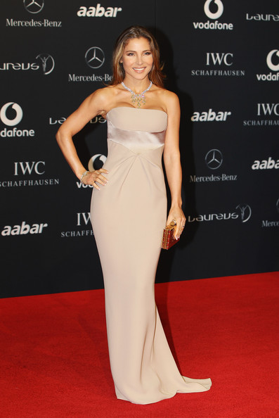 Elsa Pataky Elsa Pataky attends the 2011 Laureus World Sports Awards at the Emirates Palace on February 7, 2011 in Abu Dhabi, United Arab Emirates.
