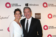 Actress Jane Hajduk (L) and actor Tim Allen attend the 22nd Annual Elton John AIDS Foundation's Oscar Viewing Party on March 2, 2014 in Los Angeles, California.