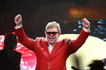 Elton John Elton John Performs His First New Year's Eve Concert In New York City