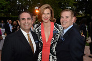 (L-R) Executive Director Ken Mosesian, honorary board member and co-chair actress Brenda Strong and board member Don Hribek of the American Fertility Association attend the American Fertility Association Illuminations LA 2013 honoring Elton John and David Furnish on April 13, 2013 in Beverly Hills, California.