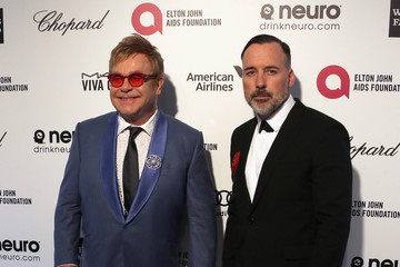 Elton John Arrivals at the Elton John AIDS Foundation Oscars Viewing Party — Part 4