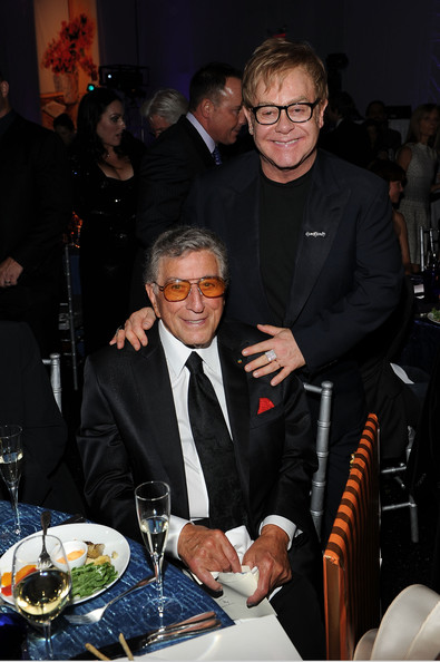Tony Bennett and Elton John - Tony Bennett's 85th Birthday Gala Benefit for Exploring the Arts