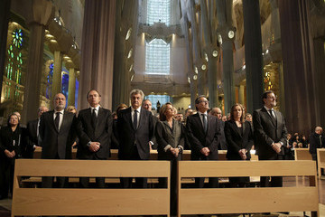 Elvira Fernandez State Funeral For Germanwings Accident's Victims