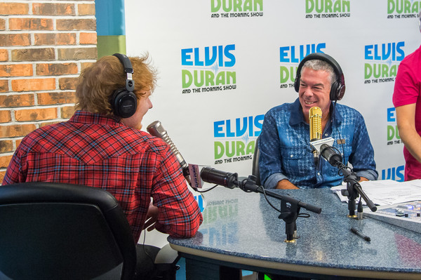 Ed Sheeran and Jamie Lawson 'The Elvis Duran Z100 Morning Show'