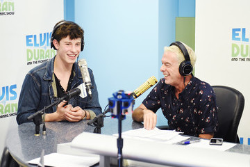Elvis Duran Shawn Mendes Visits 'The Elvis Duran Z100 Morning Show'