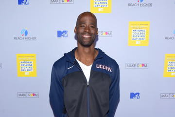 Emeka Okafor MTV's 2017 College Signing Day with Michelle Obama - Arrivals
