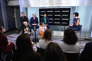Emilia Clarke SiriusXM Town Hall Special With The Cast Of 'Last Christmas' Hosted By SiriusXM's Jessica Shaw At The SiriusXM Studios In New York City