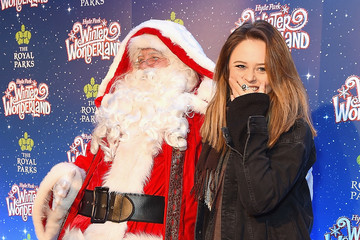 Emily Atack Winter Wonderland VIP Launch Night