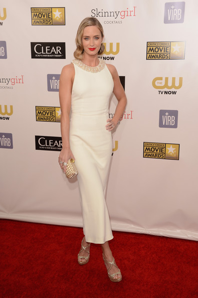 Emily Blunt - 18th Annual Critics' Choice Movie Awards - Arrivals