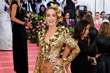 Emily Blunt The 2019 Met Gala Celebrating Camp: Notes on Fashion - Lookbook