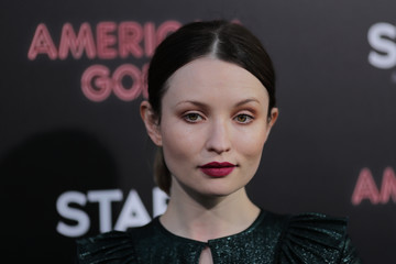 Emily Browning Premiere Of Starz's 'American Gods' - Arrivals