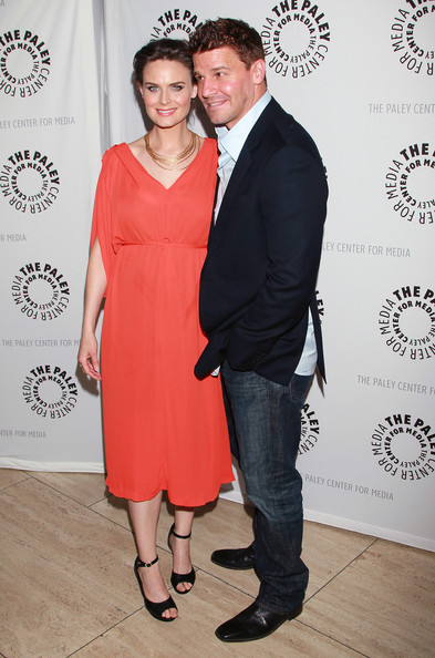 David Boreanaz And Emily Deschanel 2014 The Paley Center For Media
