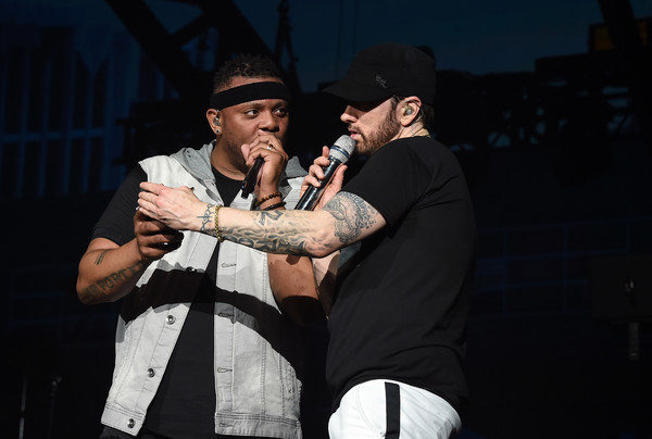 Eminem And Mr Porter Photos Photos 2018 Coachella Valley Music And