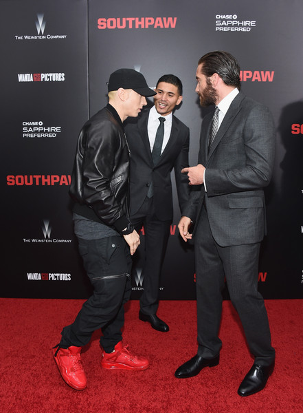 Eminem Photos Photos Southpaw New York Premiere Zimbio