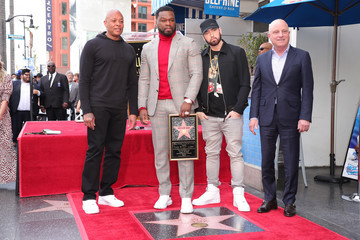 "Eminem Curtis ""50 Cent"" Jackson Is Honored With A Star On The Hollywood Walk Of Fame"