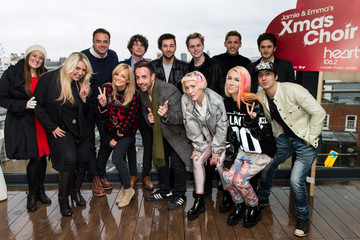 Emma Bunton 'X-Factor' Christmas Choir Unveiled