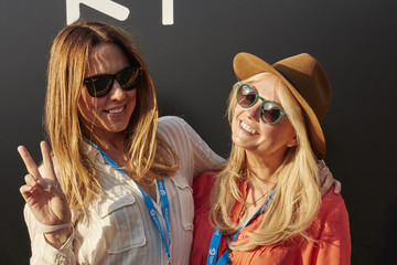 Emma Bunton Ray-Ban Rooms at 'Barclaycard Presents: British Summer Time in Hyde Park'