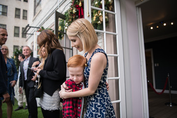 Emma Roberts Brooks Brothers Hosts Annual Holiday Celebration In Los Angeles To Benefit St. Jude - Inside